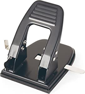 Officemate 2 Hole Punch, 30 Sheet Capacity, Black (90092)