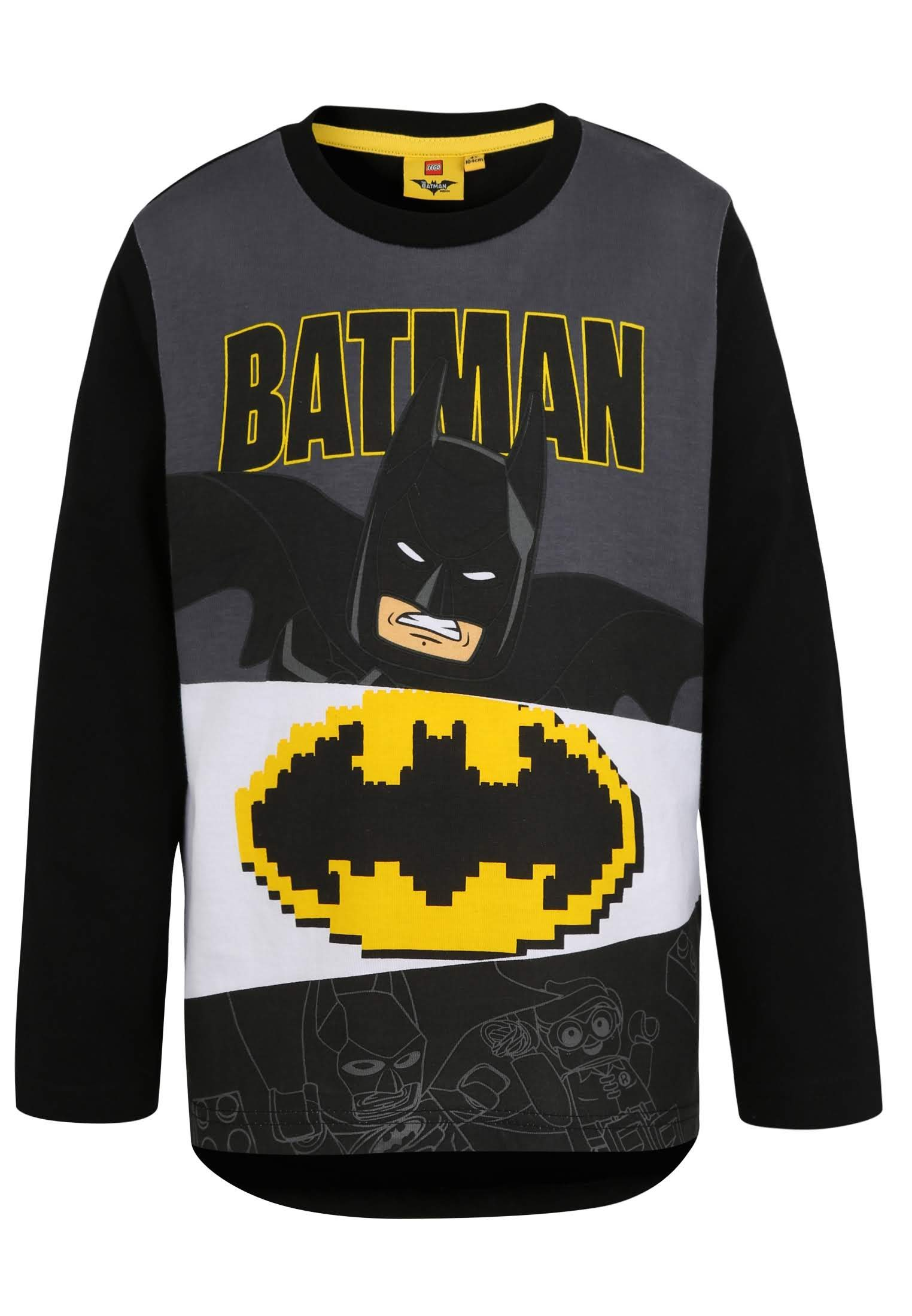LEGO Batman Tshirts L/S (140, Black)