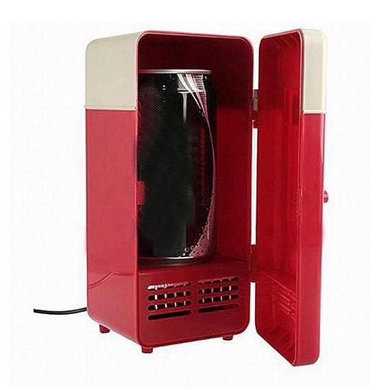 Gosear Coca USB Mini Nevera congelador del refrigerador para ...