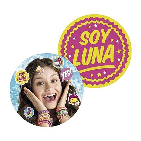 Cojín soy Luna redondo 35 cm: Amazon.es: Hogar