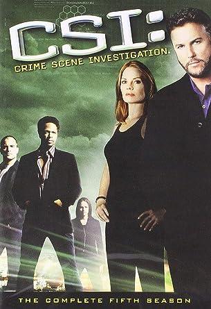 Amazoncom Csi Crime Scene Investigation The Complete Fifth