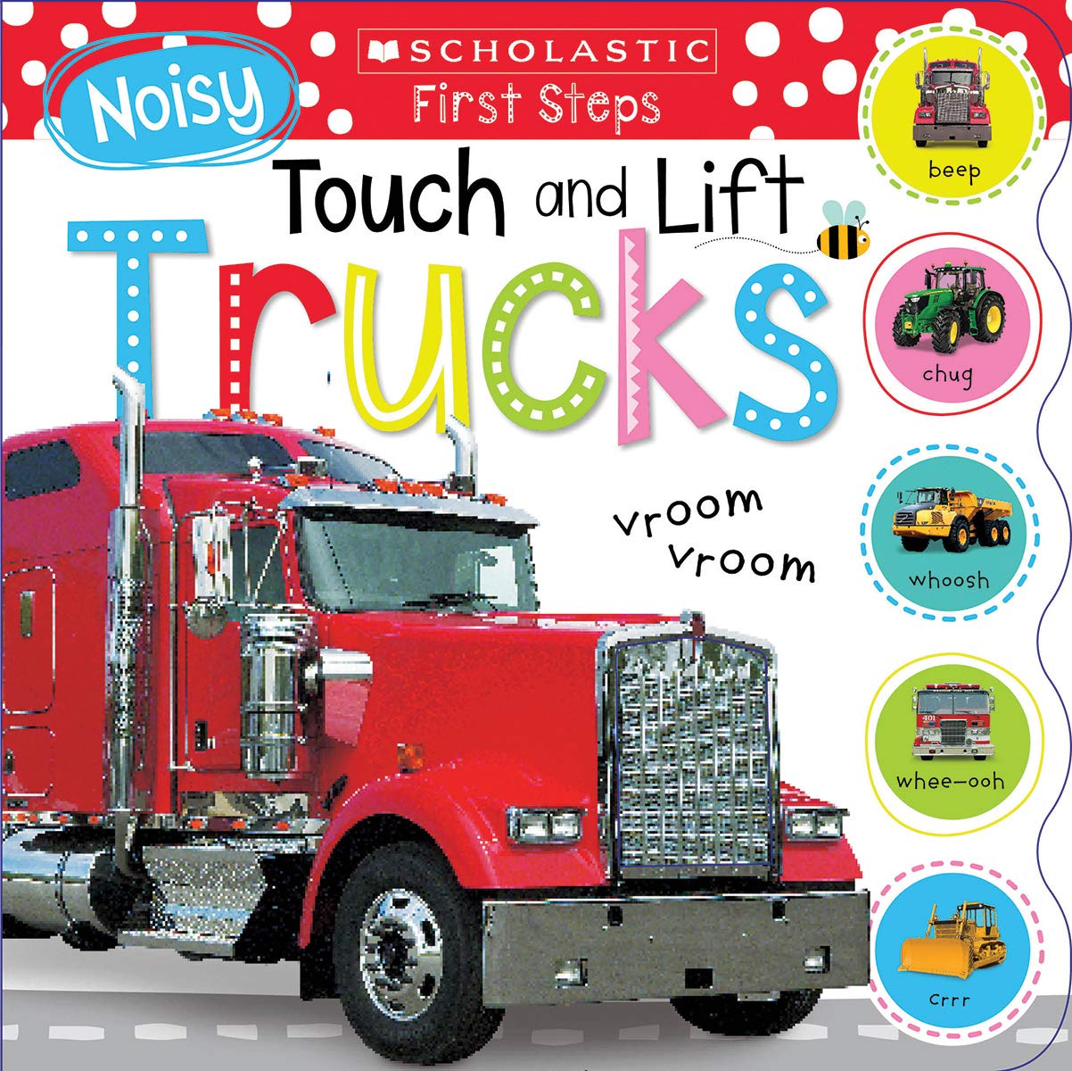 Noisy Touch and Lift Trucks (Scholastic Early Learners) by Cartwheel Books (Image #1)