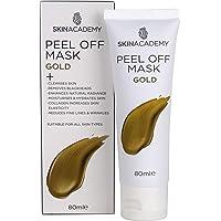 Skin Academy Peel Off Mask - Gold, 80ml, 108 grams
