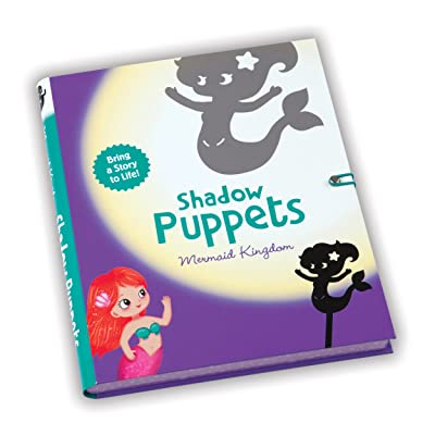 Mudpuppy Mermaid Kingdom Shadow Puppets: Mudpuppy, Yuste, Patricia: Toys & Games