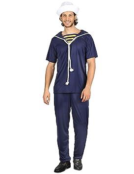 Generique - Disfraz Marinero para Hombre L: Amazon.es: Juguetes y ...