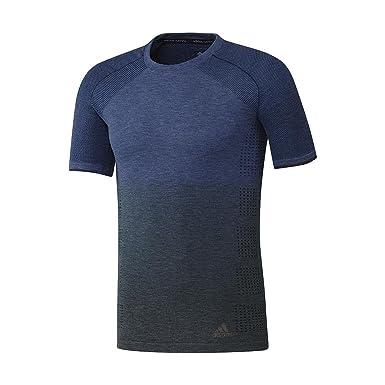 ac0361424622 adidas Performance T-Shirt de Running PKNIT Tee DD M Navy - SHAZ2900  Amazon .fr  Vêtements et accessoires
