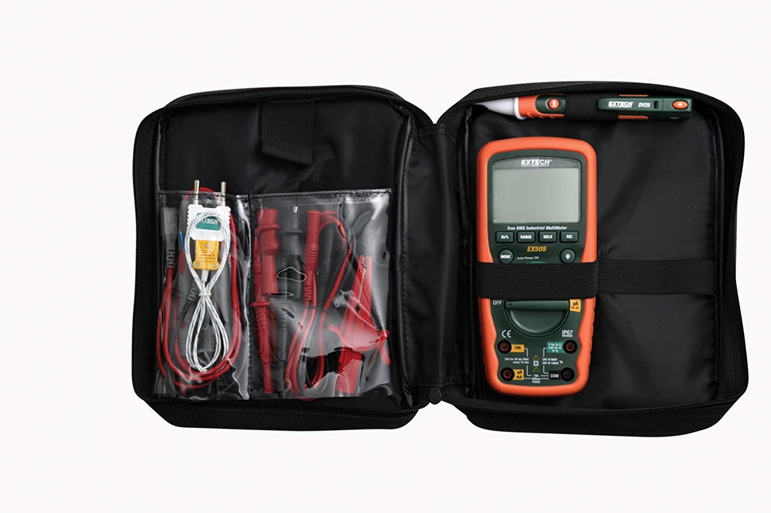 Extech Ex505 K Heavy Duty Industrial Multimeter Kit Instruments Corp Ac Circuit Load Tester