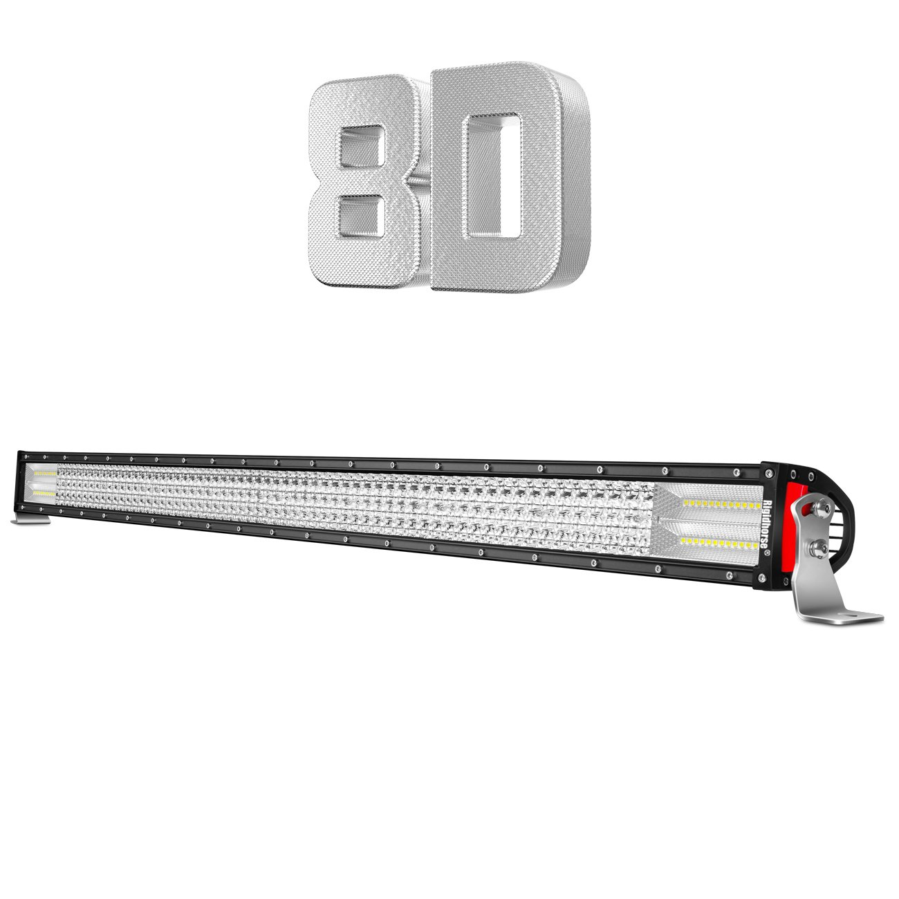 Rigidhorse LED Light Bar Quad Row 42Inch 744W Flood Spot Combo Lights Waterproof IP67 for Off Road Lighting Jeep and Trucks SUV by Rigidhorse