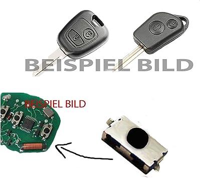 1x Für Peugeot 106 206 207 306 307 406 Fernbedienung Funkschlüssel Schlüssel Mikroschalter Smd Taster Microschalter Auto
