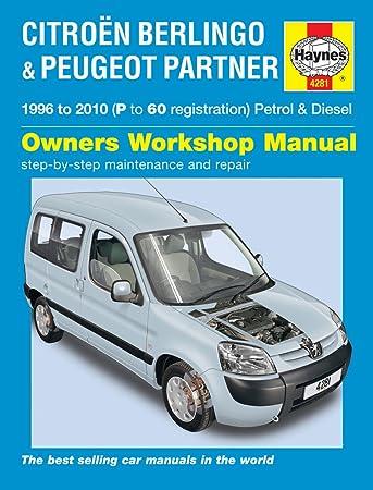 citroen berlingo repair manual haynes manual service manual workshop rh amazon co uk 2002 Citroen Berlingo Citroen Berlingo Payload