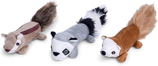 Petface Furry Sticks – chipmonk/Mapache/Ardilla Perro/Perrito Juguetes (Pack de 3): Amazon.es: Productos para mascotas
