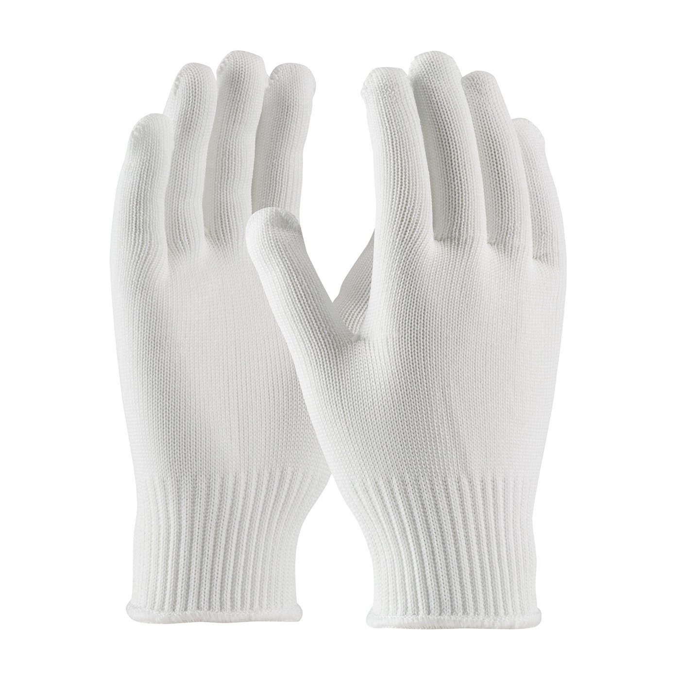 CleanTeam 40-C2210/L Medium Weight Seamless Knit Stretch Polyester Clean Environment Glove, 10 Gauge