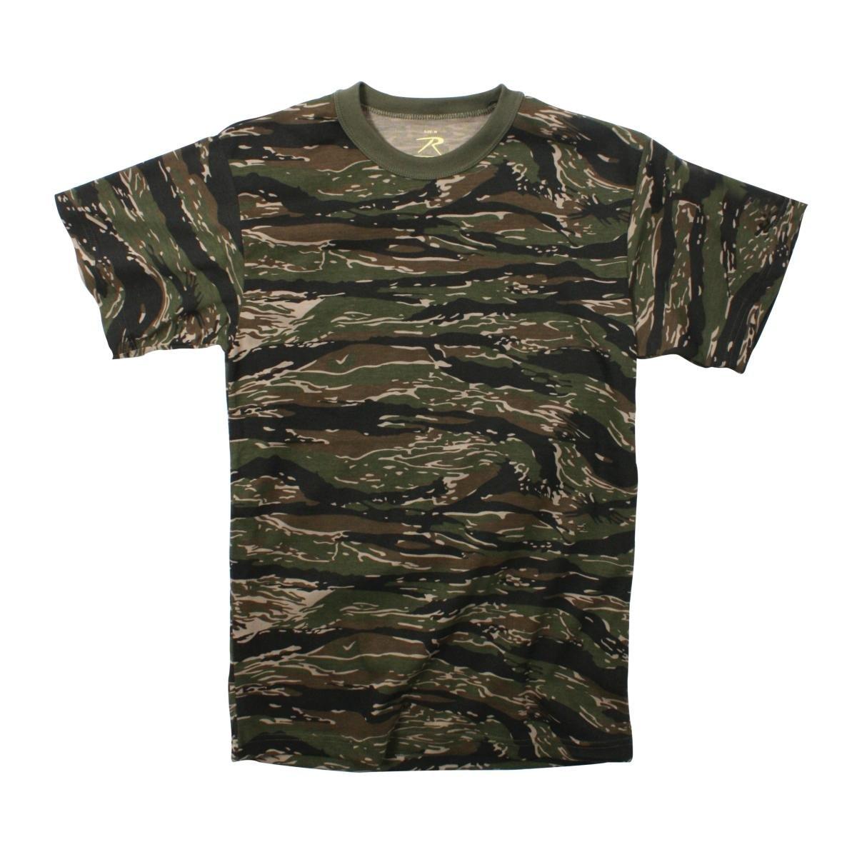 Rothco T-Shirt//Tiger Stripe