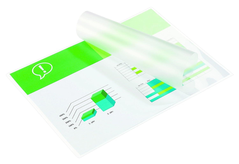 100 fogli di pellicola per plastificatrice DIN A4 Falambi 2 x 125 mic.// opaco