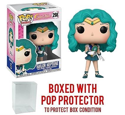 291e2943392 Amazon.com  Funko Pop! Anime  Sailor Moon - Sailor Neptune Vinyl Figure  (Bundled with Pop BOX PROTECTOR CASE)  Toys   Games