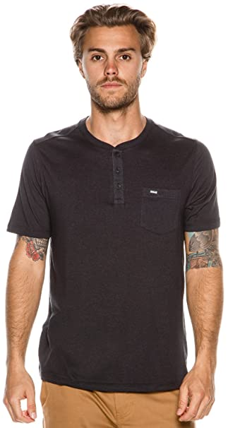 da30fa62b Hurley - Mens Dri-Fit Lagos Henley T-Shirt: Amazon.ca: Clothing &  Accessories