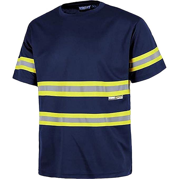 Work Team Camiseta Manga Corta, Cuello Redondo, Cintas ...