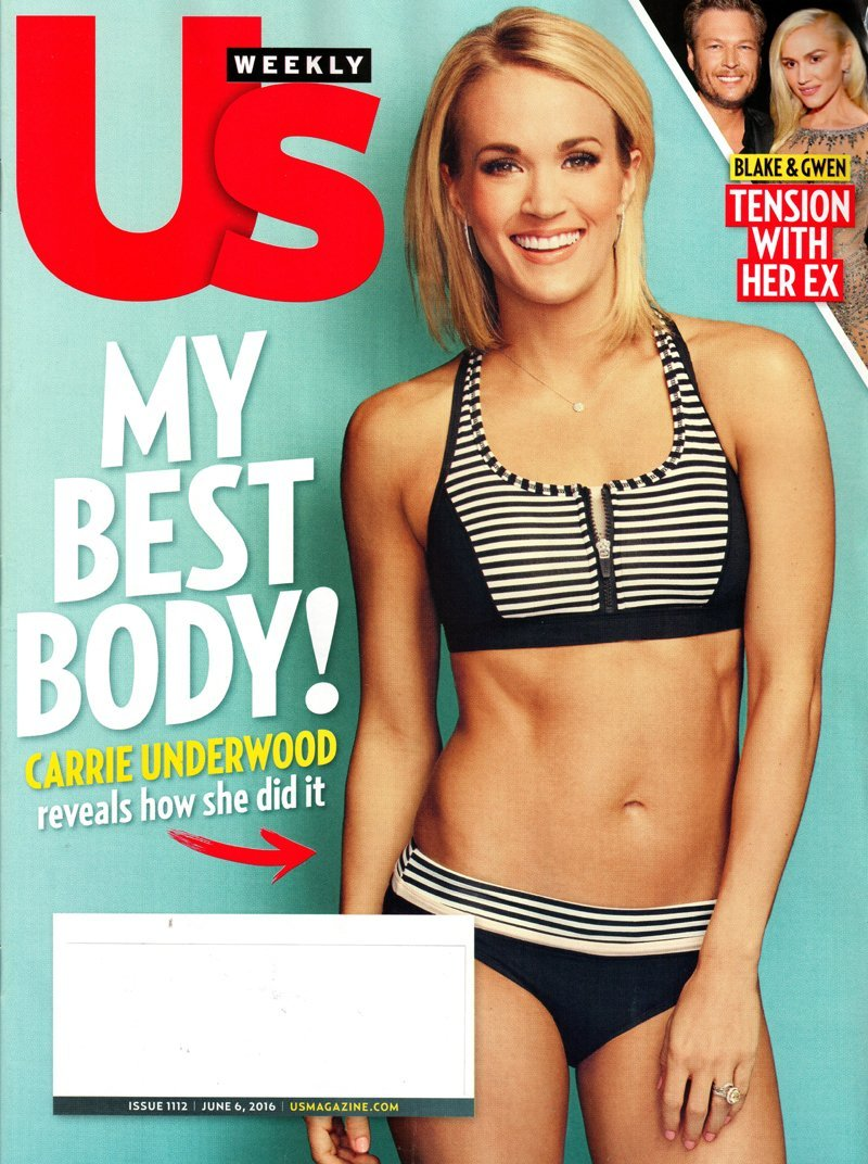 Download US Weekly Magazine - June 6, 2016  My Best Body! Carrie Underwood pdf epub