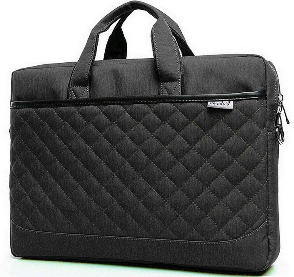 c63921fd2500 ZYSTERT 14 Inch Laptop Bag Shoulder Bag With Strap Multi-Compartment ...