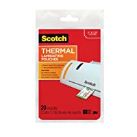 Deals on 20-Pack Scotch Thermal Laminating Pouches TP5851-20