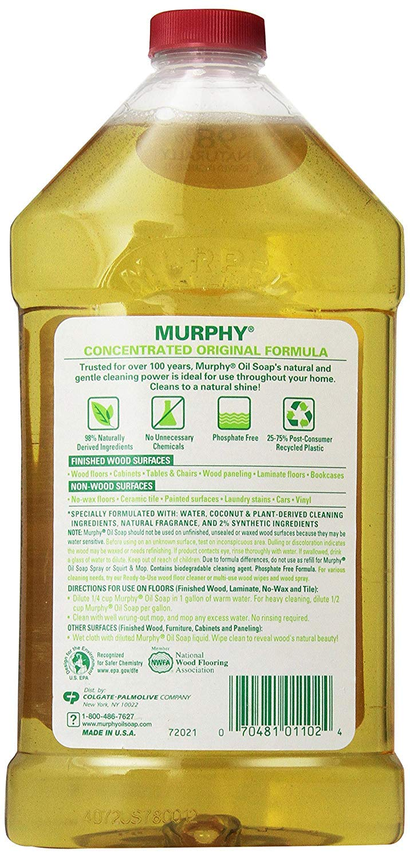 Amazon Com Murphy S Oil Soap Original Wood Cleaner 32 Fluid Ounce