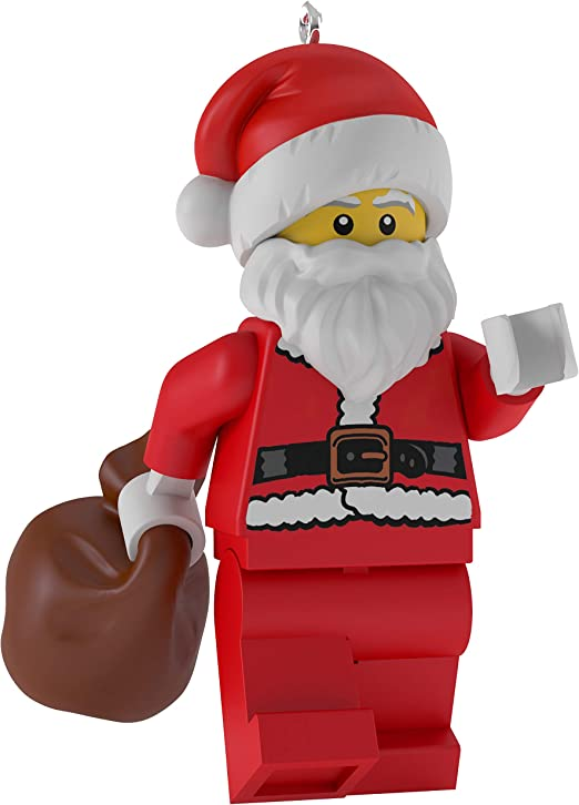 LEGO 2 CHRISTMAS MINIFIGURES SANTA CLAUS,ELF+GIFTS,BRAND NEW UNPACKED