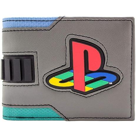 Cartera de Playstation 2 Consola de Estilo japonés Gris