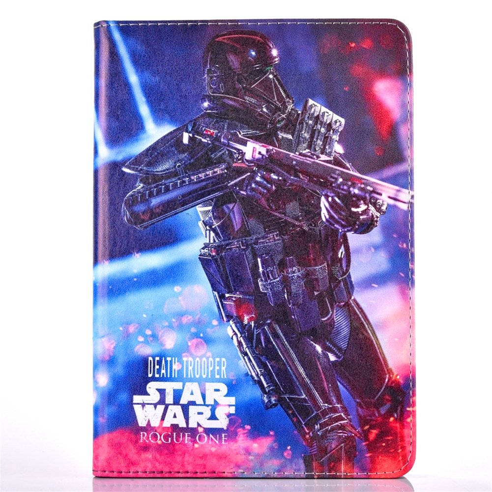 iPad 4 2 3新しいiPadケース、phenix-color Rogue 1つ: A Star WarsストーリープレミアムフリップスタンドPUレザーシェルケースfor Apple iPad 4 2 3新しいiPad  #10 B01NADS3IZ