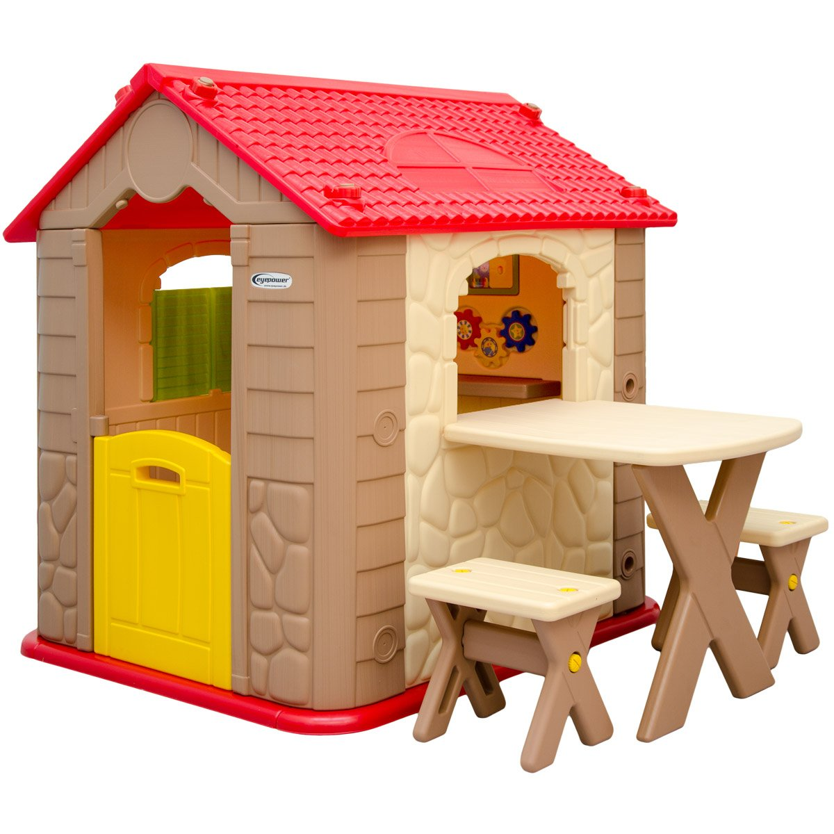 Childrens Playhouse + 1 Table + 2 Benches | For Boys And Girls | House Made