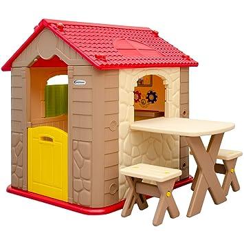 casa de juegos para nios y nias mesa taburetes casita de