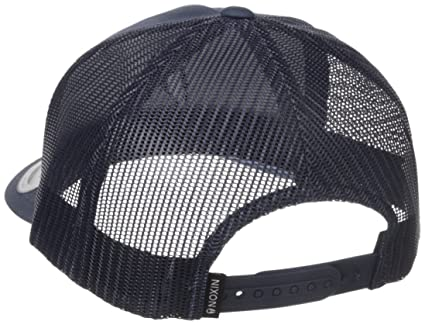 a777112fa35 Amazon.com  NIXON Men s Iconed Trucker Hat