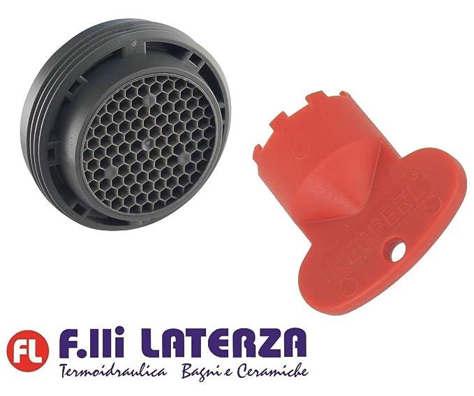 Schl/üssel Strahlregler Luftsprudler Wasserhahn Mischbatterie Universal versenkbare M24 Kit Filtrino