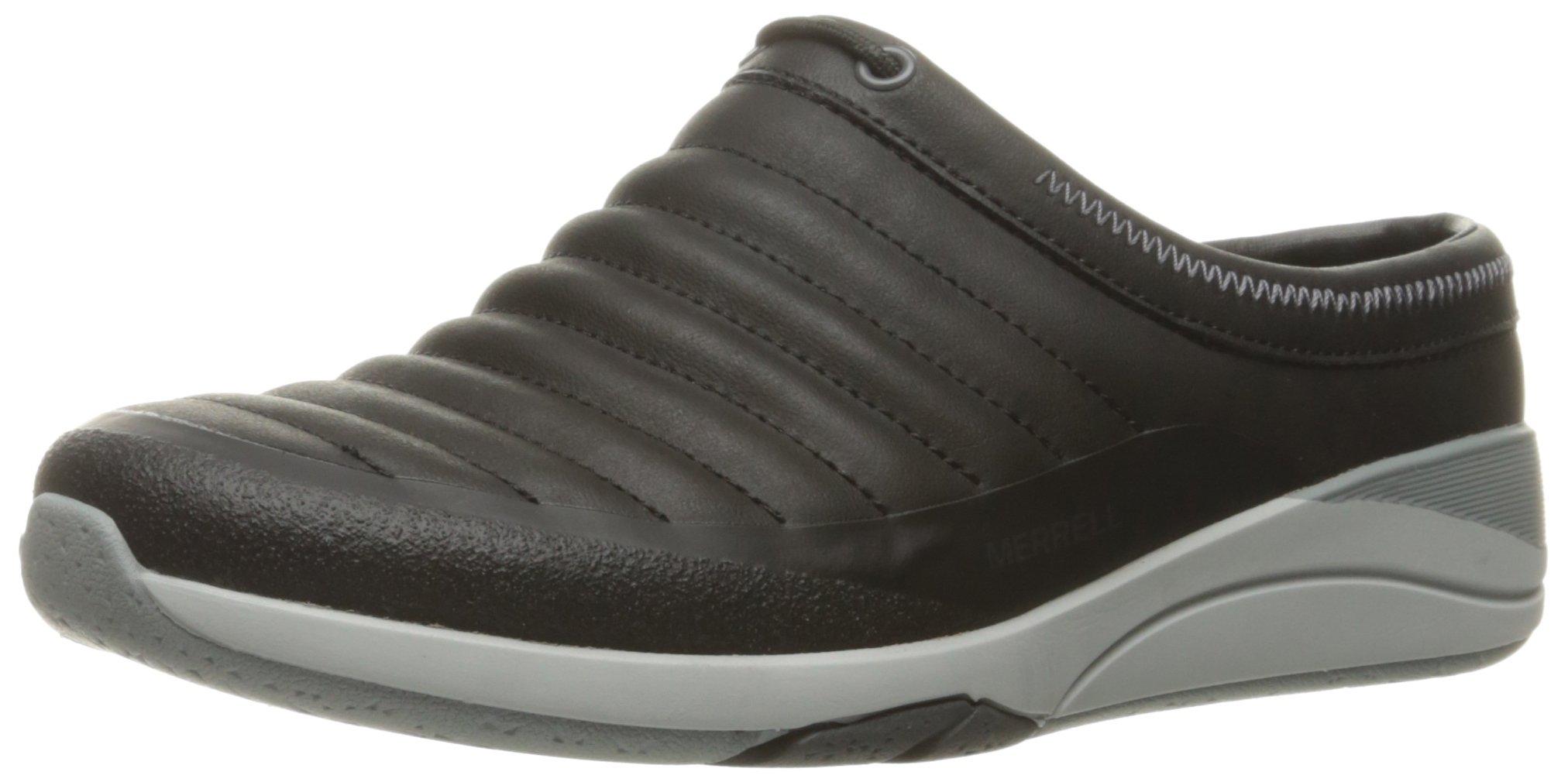 Merrell Women's Applaud Slide Slip-On Shoe, Black, 9.5 M US