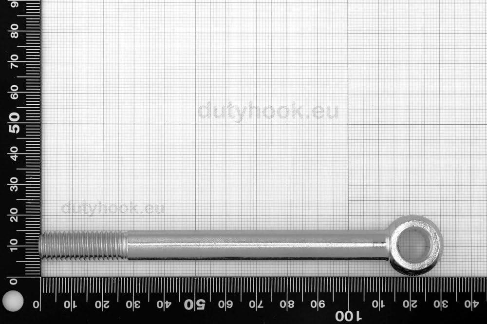 Dutyhook M10X120 Eye Bolt DIN 444 Stainless Steel AISI 316