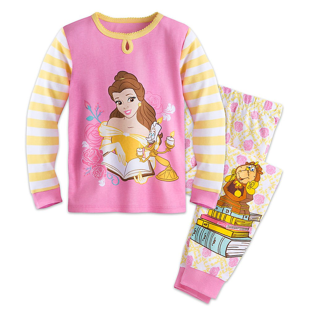 Disney Belle PJ PALS Pajamas for Girls