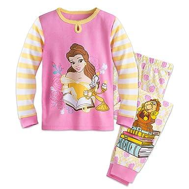 Disney Belle PJ PALS Pajamas for Girls Size 2