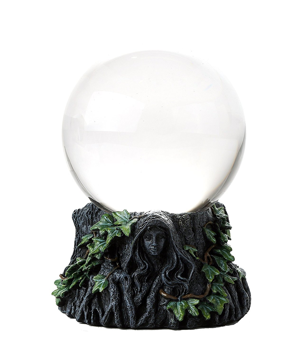 Mother Maiden Crone Triple Goddess Crystal Gazing Ball Stand