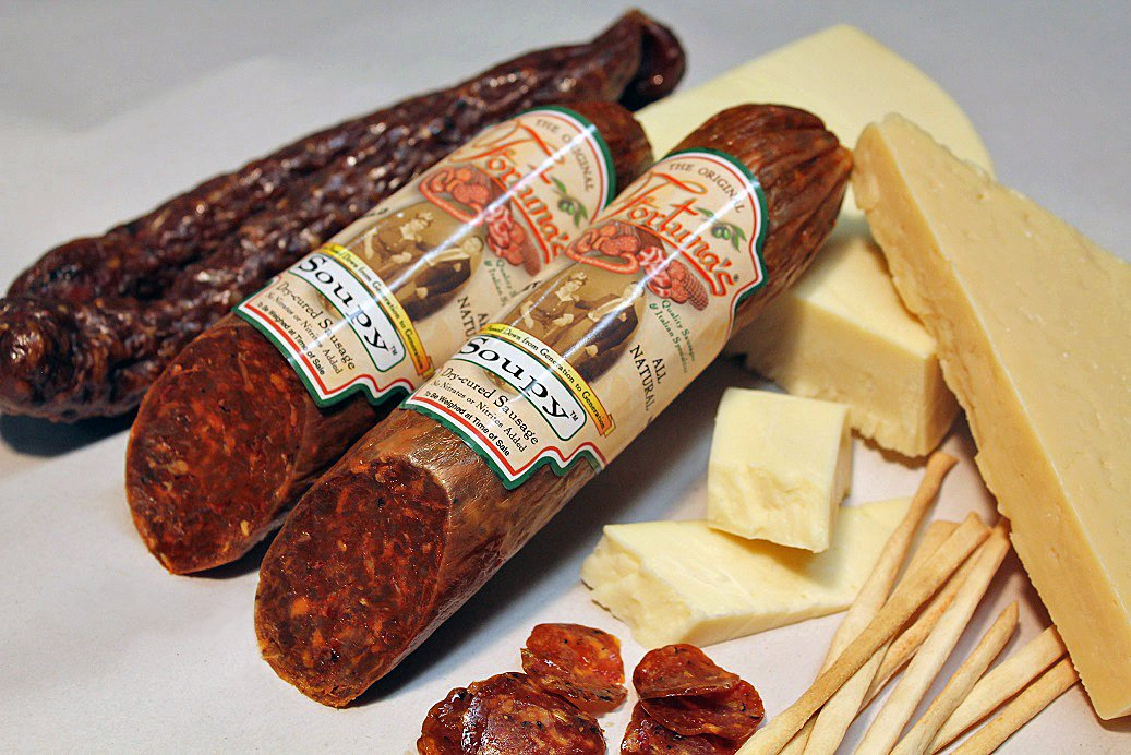 All-Natural Salami Collection Box by Fortuna's (Image #1)