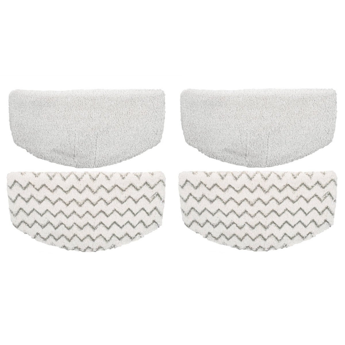 Microfiber Washable Steam Mop Pads Replacement for Bissell Powerfresh 1940 Series Steam Mop (4 Packs)