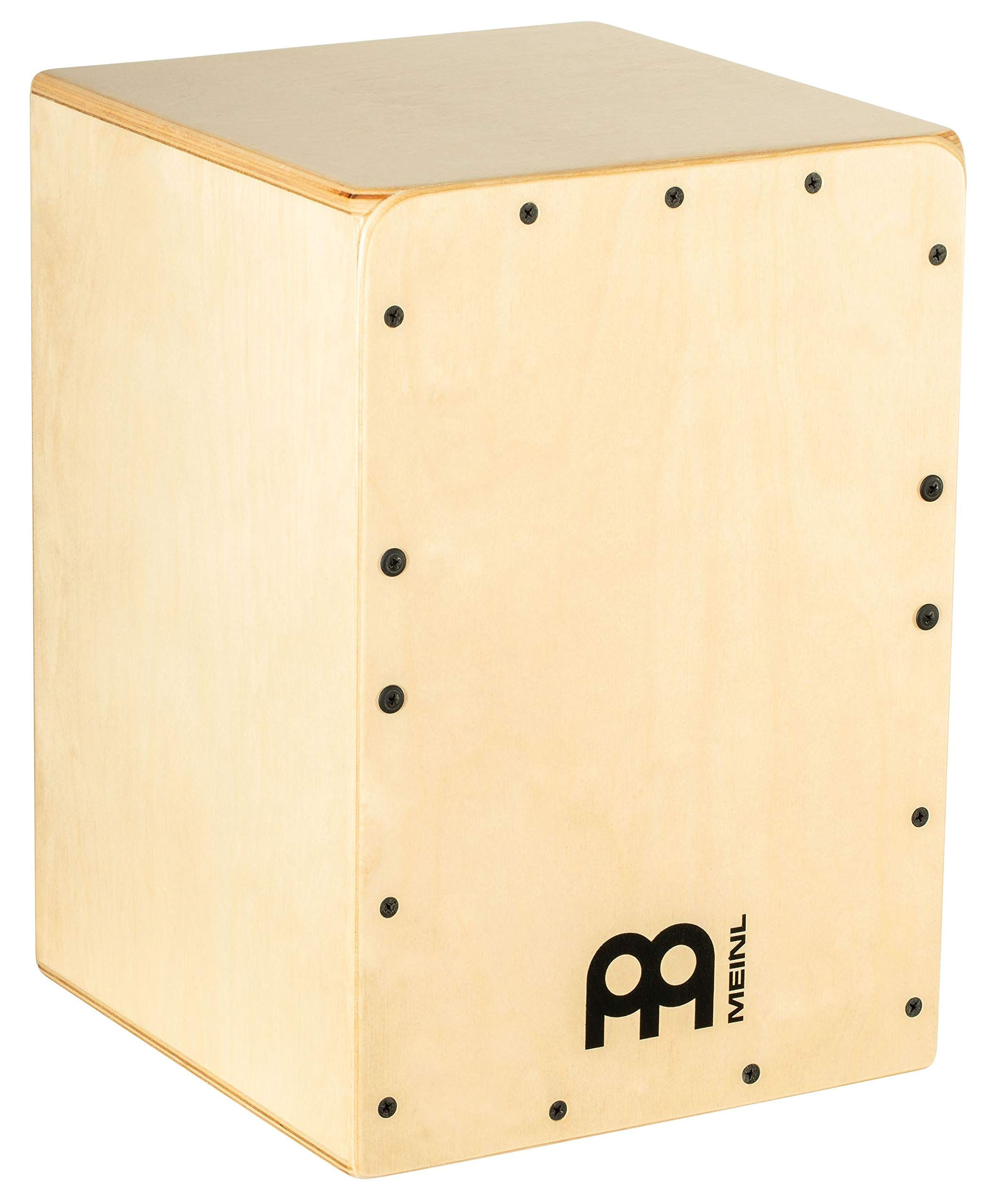 Meinl Cajon Box Drum with Internal Snares - MADE IN EUROPE - Baltic Birch Wood, Compact Size, 2-YEAR WARRANTY (JC50B) by Meinl Percussion (Image #1)