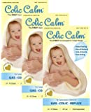 Colic Calm All Natural Gripe Water Colic Relief, 2oz (3 PACK)