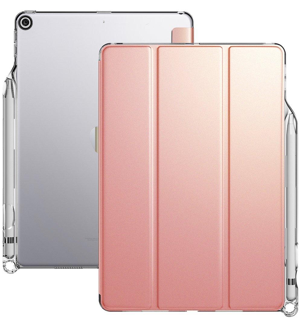brand new dd4d4 deda5 Amazon.com: iPad 9.7 Case, Poetic Lumos X Flexible Soft Transparent ...