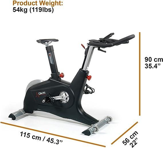 DKN X Motion - Bicicletas estáticas: Amazon.es: Deportes y aire libre