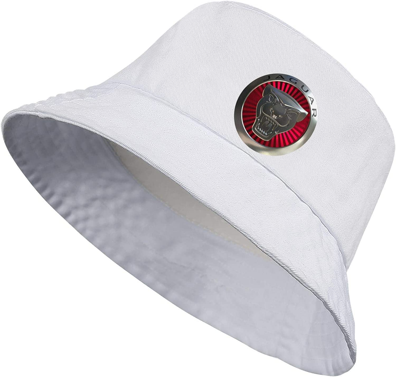 MK8OPLQ Jaguar-Logo Hats Mens Womens Cap Beach Hat All Cotton Caps