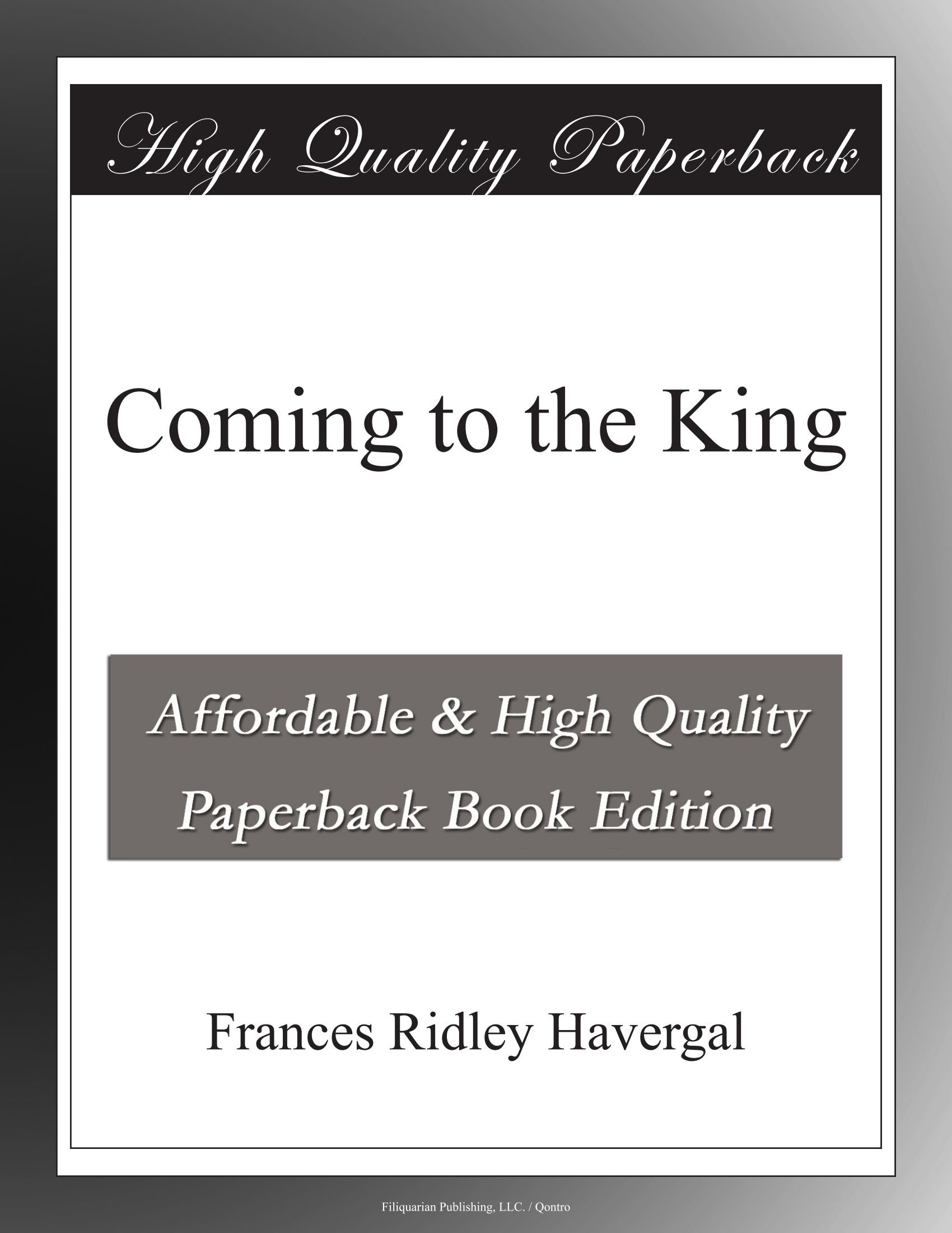 Coming to the King pdf