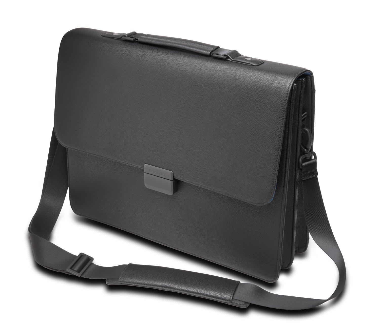 Kensington K62849WW 15 Laptop Briefcase, Black