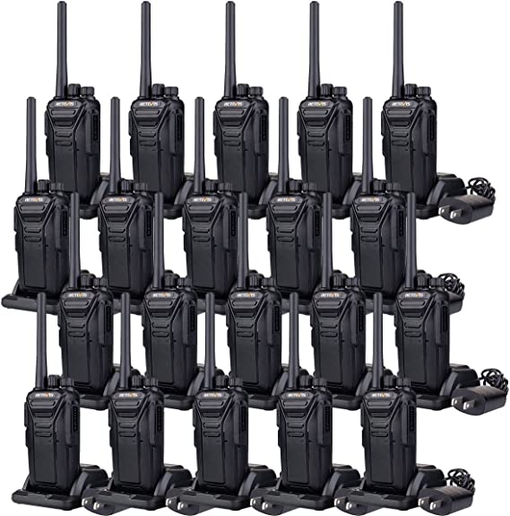 15X WalkieTalkie Retevis H777 CTCSS//DCS 16CH UHF Two Way Radio+15X Speaker Mic