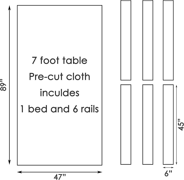 cpba competencia de mesa de billar paño – rápido velocidad alta precisión precortado cama y rieles, 8 Pool Table, Vino: Amazon.es: Deportes y aire libre