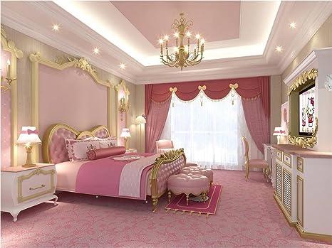 Camera Letto Rosa : Rosa letto rosa camera da letto per ragazza fotografia sfondo del