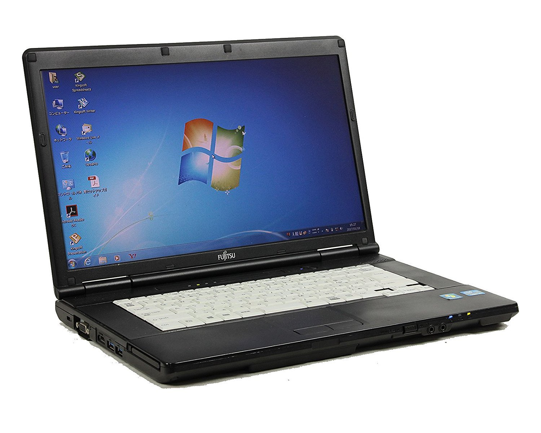 柔らかい [ 中古ノートパソコン/ WPS B0765PFYJG Office ] WPS ] 富士通 LIFEBOOK A572/F Windows7 15.6インチ Core i5 3320M 2.6GHz メモリ4GB HDD320GB [ DVDマルチドライブ ] B0765PFYJG, 洞爺村:15b8d72c --- arianechie.dominiotemporario.com